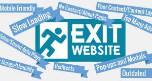 عوامل ترک وب سایت